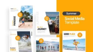 Good Travel Social Media Template