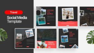 Travel Explore Social Media Template