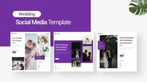 Wedding Organizer Social Media Template