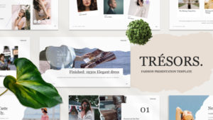 Tresors Fashion PowerPoint Template