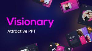 Visionary Attractive Presentation Template