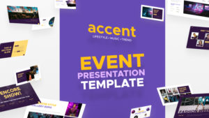 Accent Event PowerPoint Template