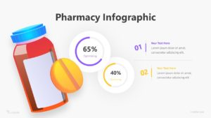 Pharmacy Infographic Template