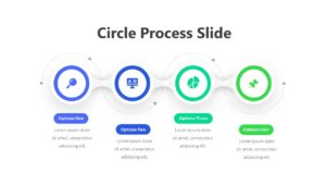 Circle Process Slide Infographic Template